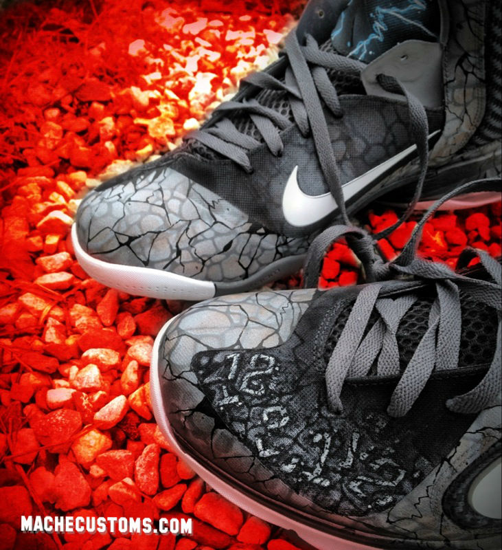 Nike LeBron 9 2012 Apocalypse by Mache Custom Kicks (4)