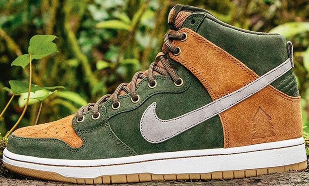 Nike Dunk High Premium SB Sequoia/Ale Brown-Cool Grey-Cool Grey