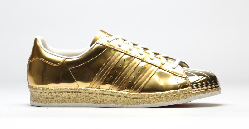 Cheap Adidas SUPERSTAR BOOST White/Black/Gold Hype DC