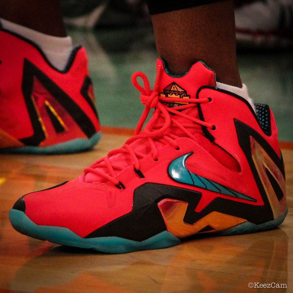 Swin Cash wearing Nike LeBron XI 11 Elite Hero (5)