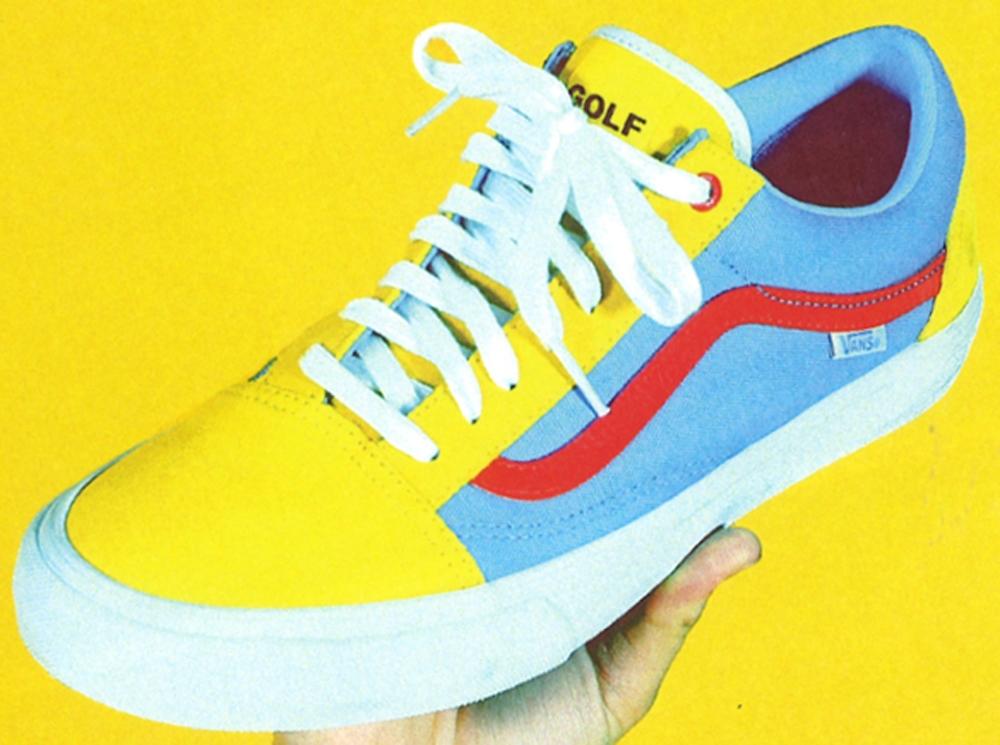 Vans Syndicate Old Skool Yellow/Red-Blue