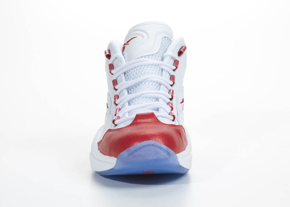 Reebok Question White Red 2012 Official Allen Iverson Shoes (3)