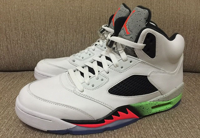 Your Best Look Yet at the 'Poison Green' Air Jordan 5