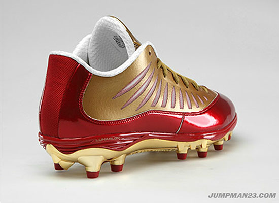 Jordan Super.Fly PE Cleats Michael Crabtree San Francisco 49ers (2)