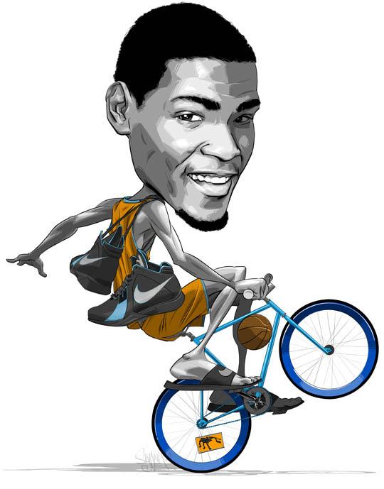 Kevin Durant Wheelie Graphic by Swank One