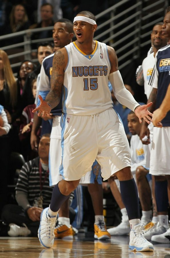 Carmelo Anthony wearing the Jordan Melo M7