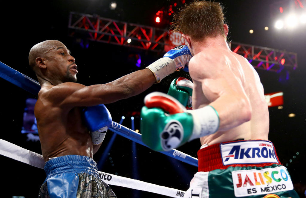 Floyd Mayweather Moves To 45-0 With Decision Over Canelo Alvarez (10)