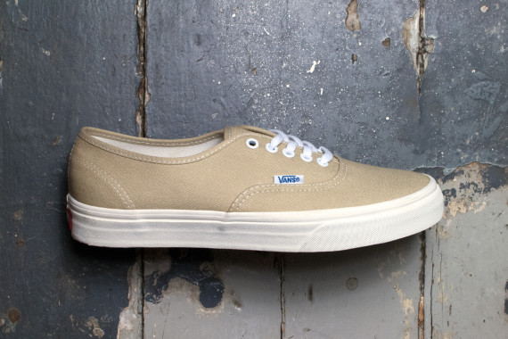 vans authentic Khaki