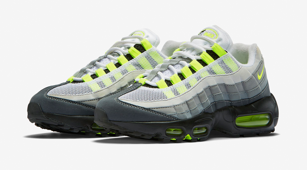 the latest 0f331 6373d Neon Womens Air Max 95 Images via Nike