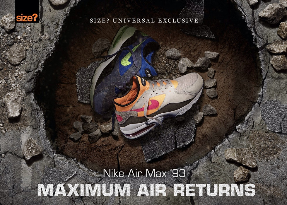 size x Nike Air Max 93 top collaborations of September