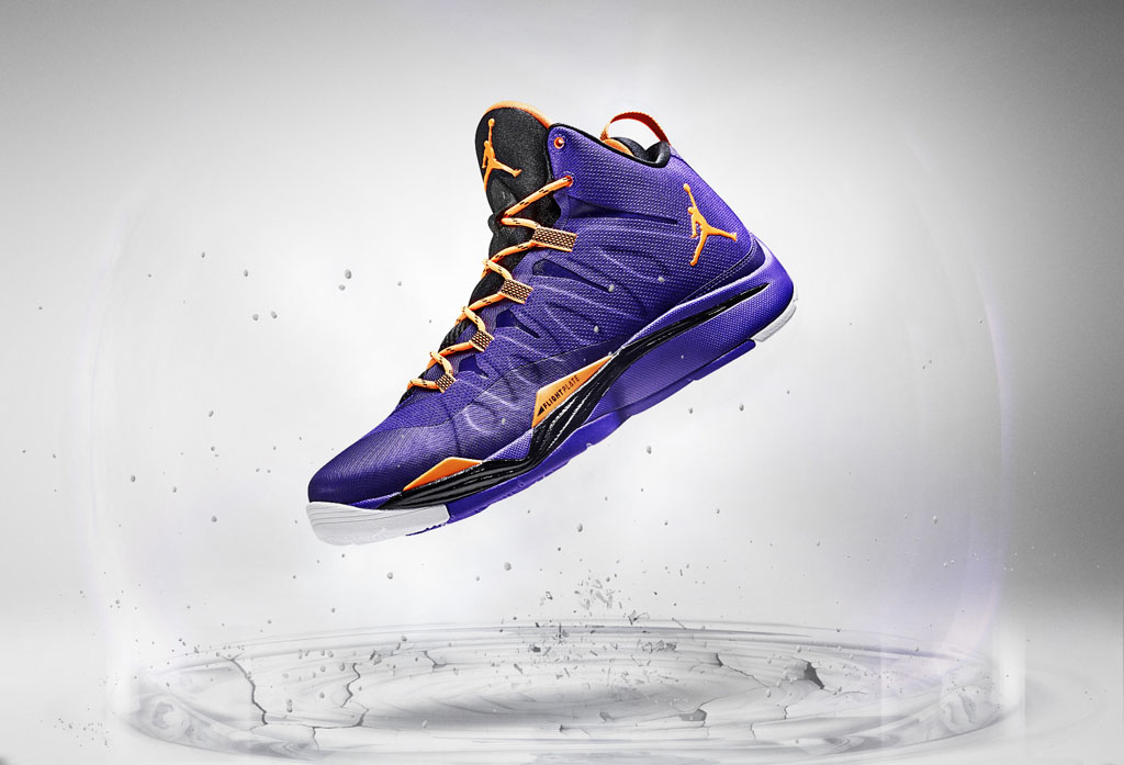 Jordan Super.Fly 2 Purple Orange