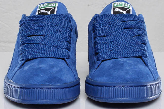 83de61188d4 puma blue suede shoes