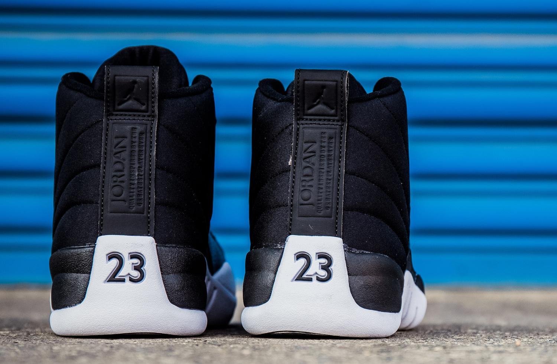 Nylon Jordan 12s 130690-004 Heel