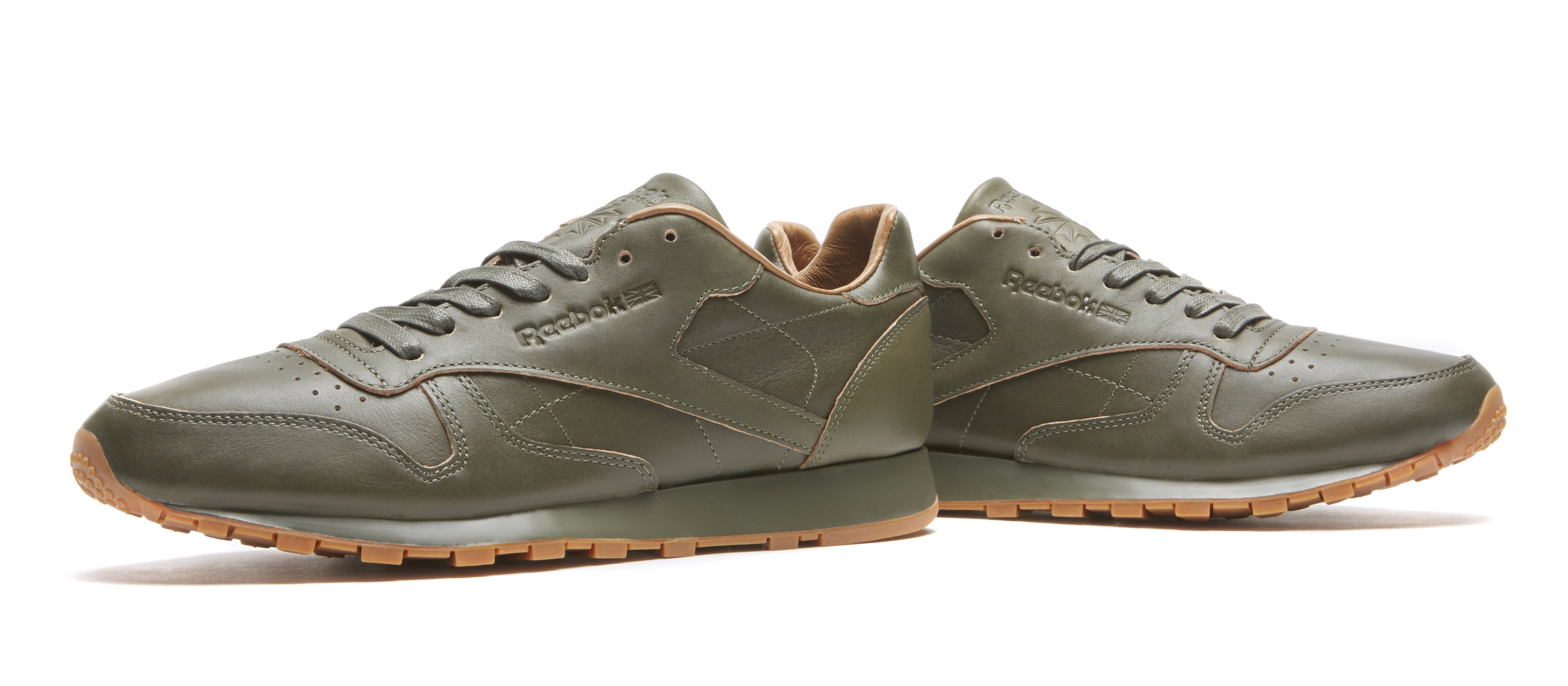 Kendrick Lamar Reebok Classic Leather Green Medial