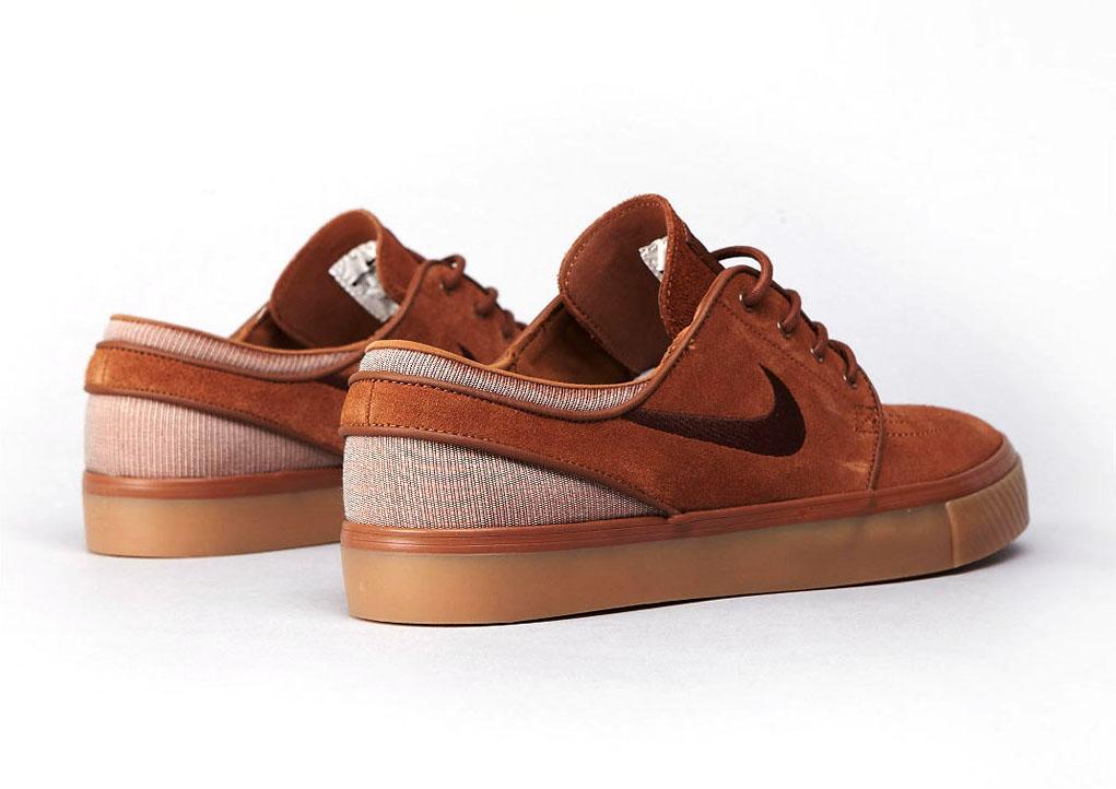 d8c42d95 Nike Zoom Stefan Janoski - Light British Tan / Dark Field Brown ...