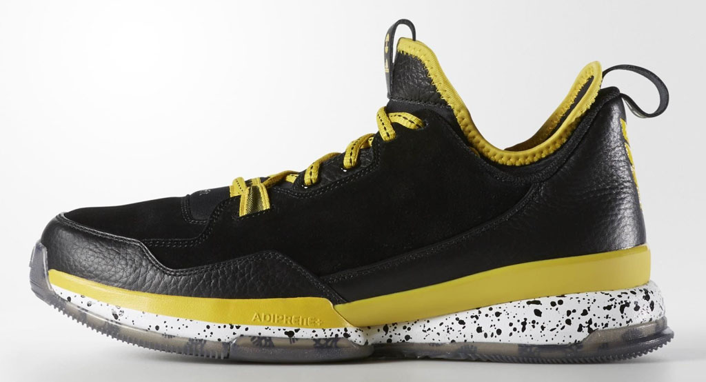 brand new 38971 567f7 Oaklandish adidas D Lillard 1 Black Yellow Release Date (1)