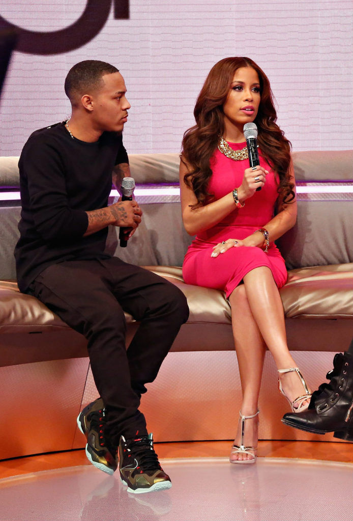 Bow Wow wearing Nike LeBron 11 XI King's Pride