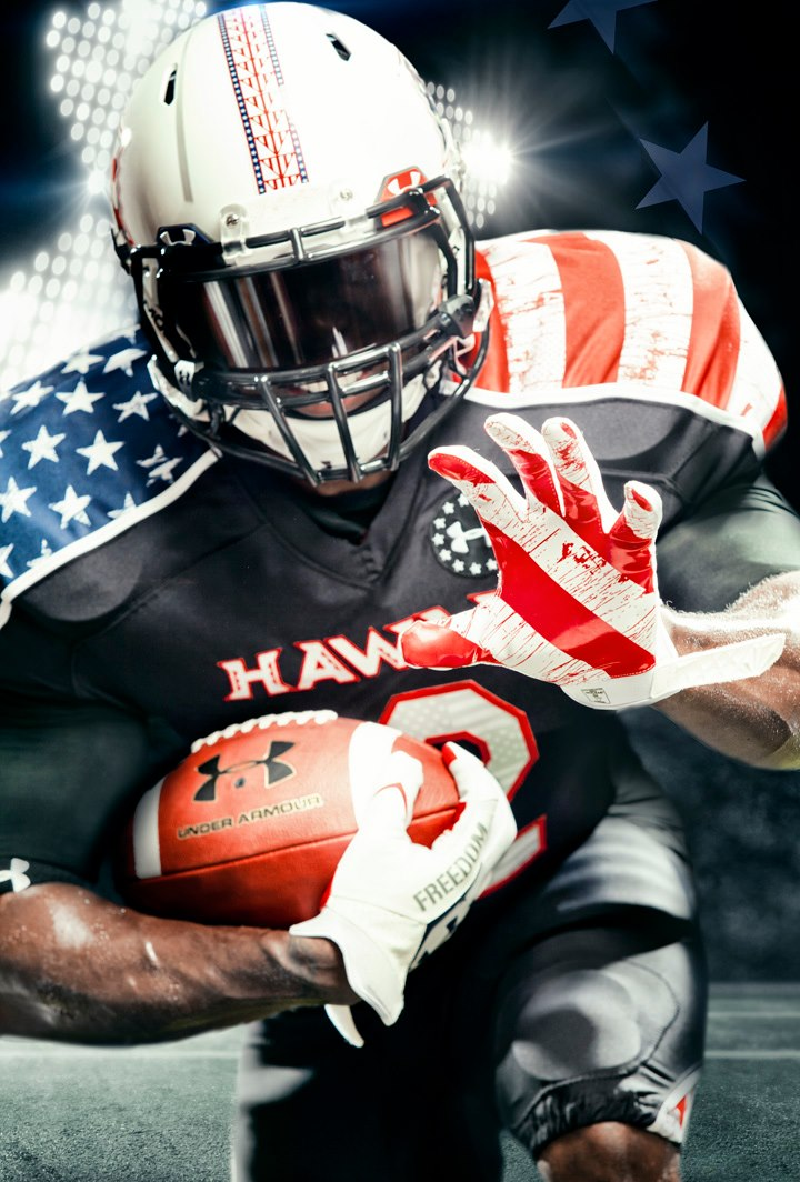 Hawaii Rainbow Warriors - Under Armour Wounded Warrior Project Football Uniforms (1)
