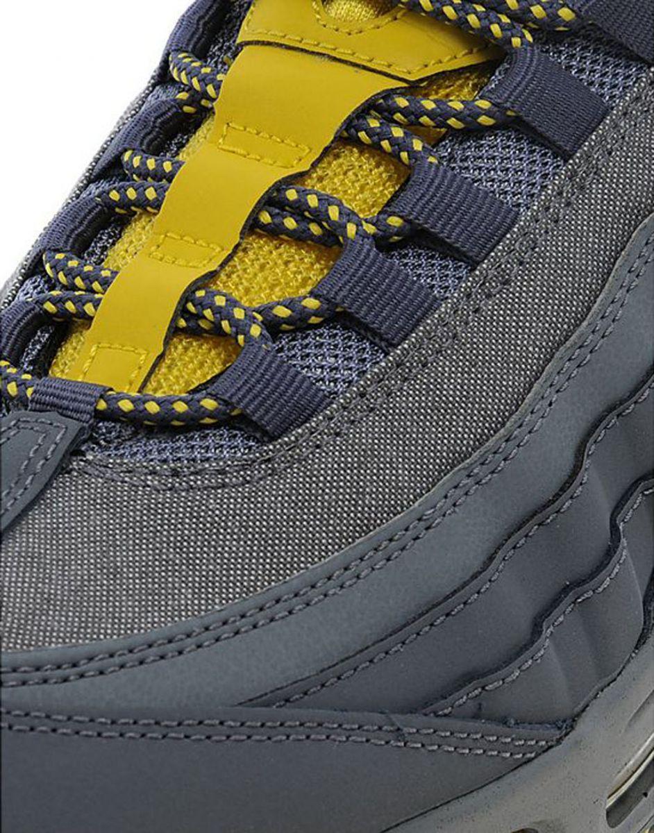 air max 95 grey and yellow