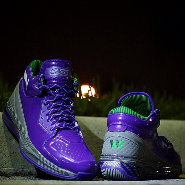 Li-Ning Way of Wade 2 Grape Wadeorade