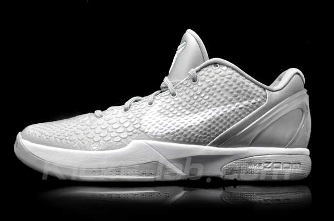 857b3869ade0c3 First Look  Nike Zoom Kobe VI - Metallic Silver White