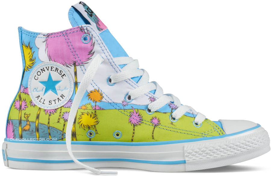 dr seuss x converse chuck taylor all star the lorax