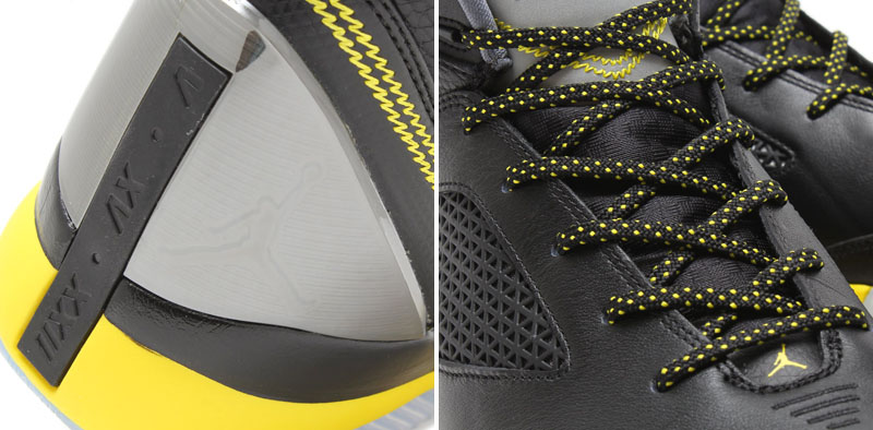 Air Jordan Flight Remix Black/Vibrant Yellow-Cool Grey Release Date 679680-070 (6)