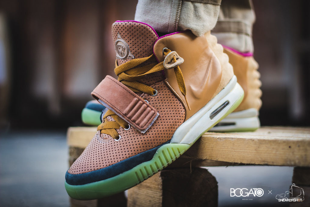 Nike Air Yeezy 2 'Net' by Maggi (9)