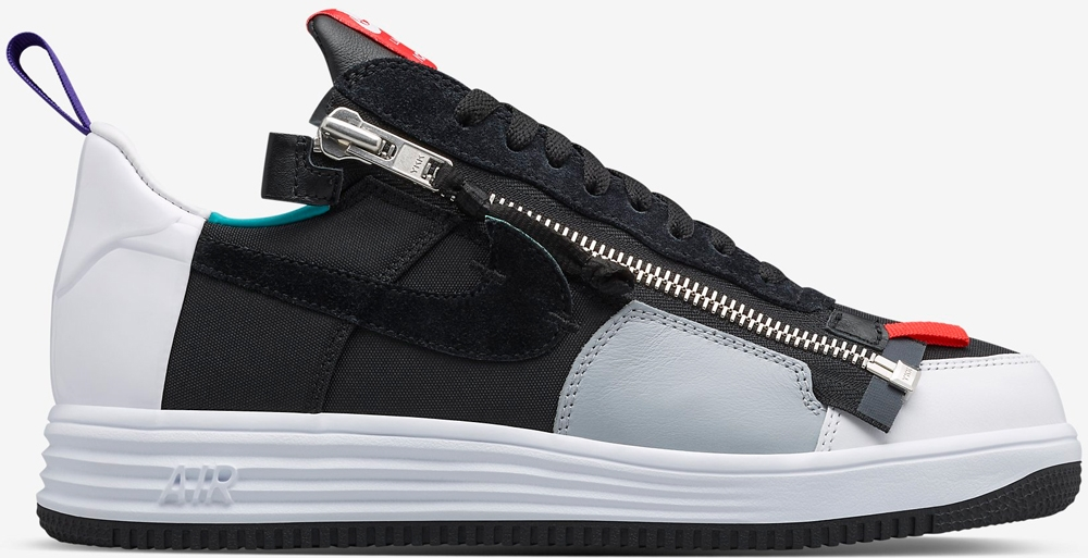 Acronym x Nike Lunar Force 1 Black/Turbo Green-Court Purple