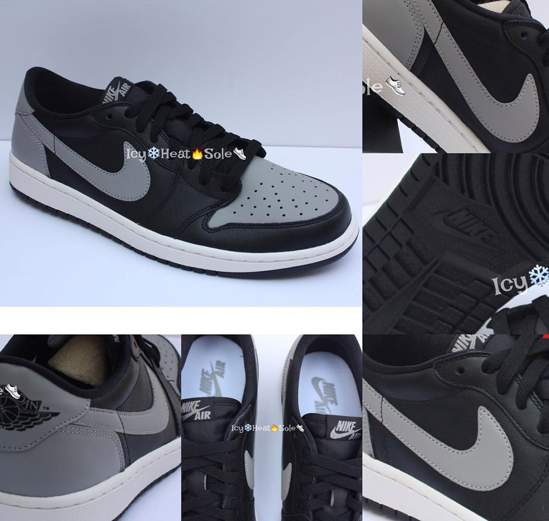 Air Jordan 1 Low Shadow Release Date 705329-003 (2) b3562beee