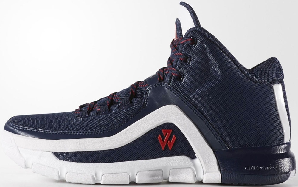 adidas J Wall 2 Navy/White-Scarlet