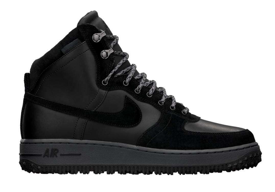 uk availability 0baa4 9c02e Nike Air Force 1 Light High Deconstructed Military BlackBlack