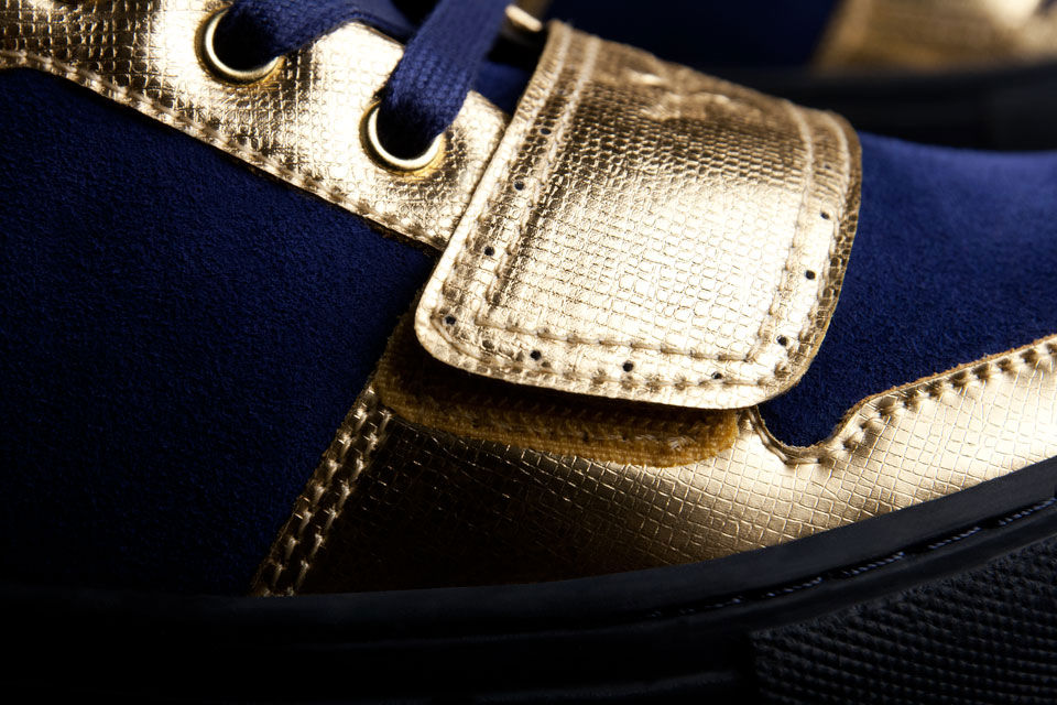 Creative Recreation Metallic Collection Cesario X Indigo Gold (2)