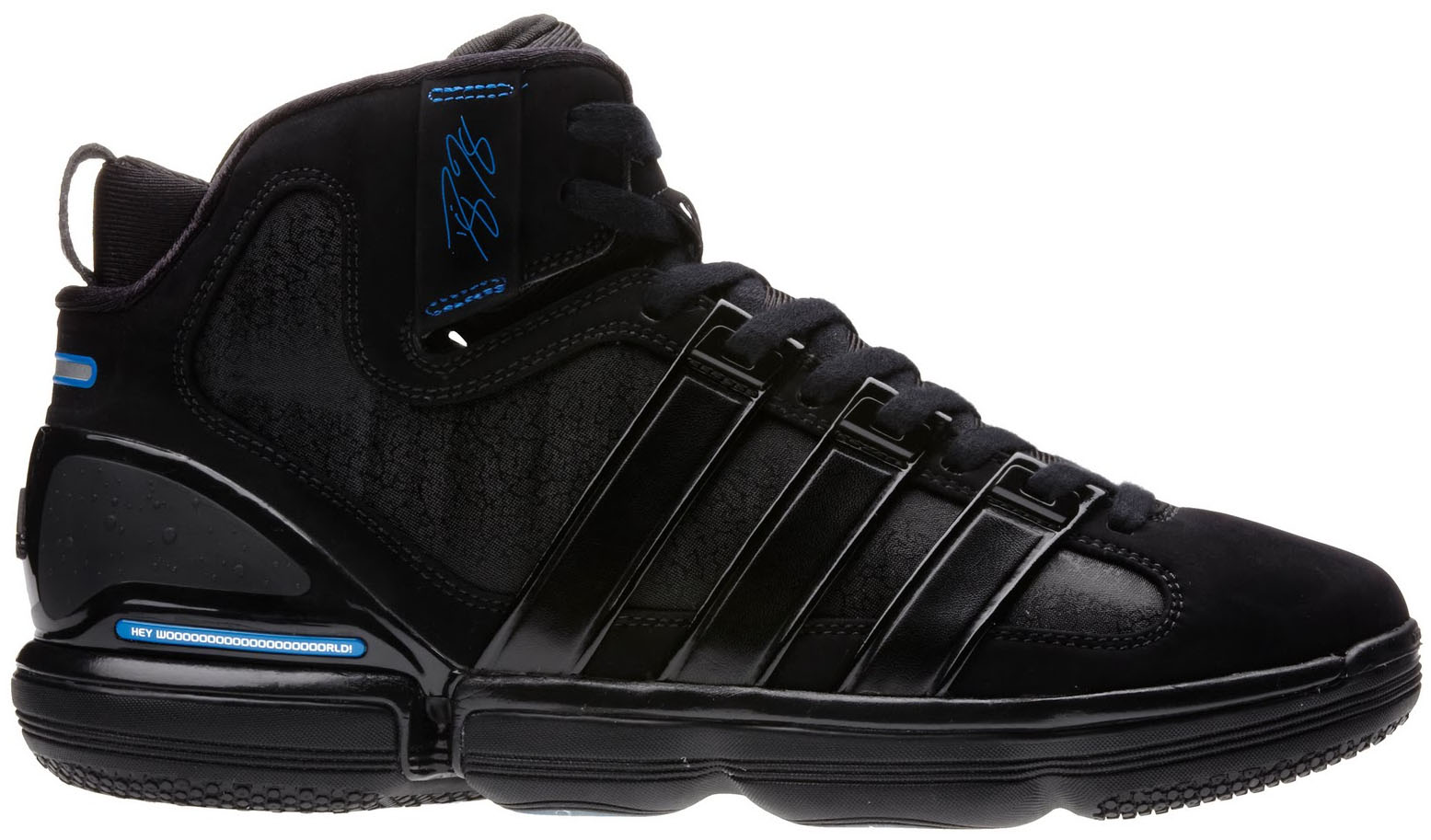 hot sale online 19d54 47bf0 Dwight Howards Orlando Magic adidas Sneaker History - Beast Commander Away  (1)