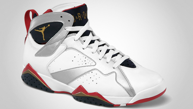 c278135703668e 07 21 2012 Air Jordan Retro 7 304775-135 White Metallic Gold-Obsidian-True  Red  160.00