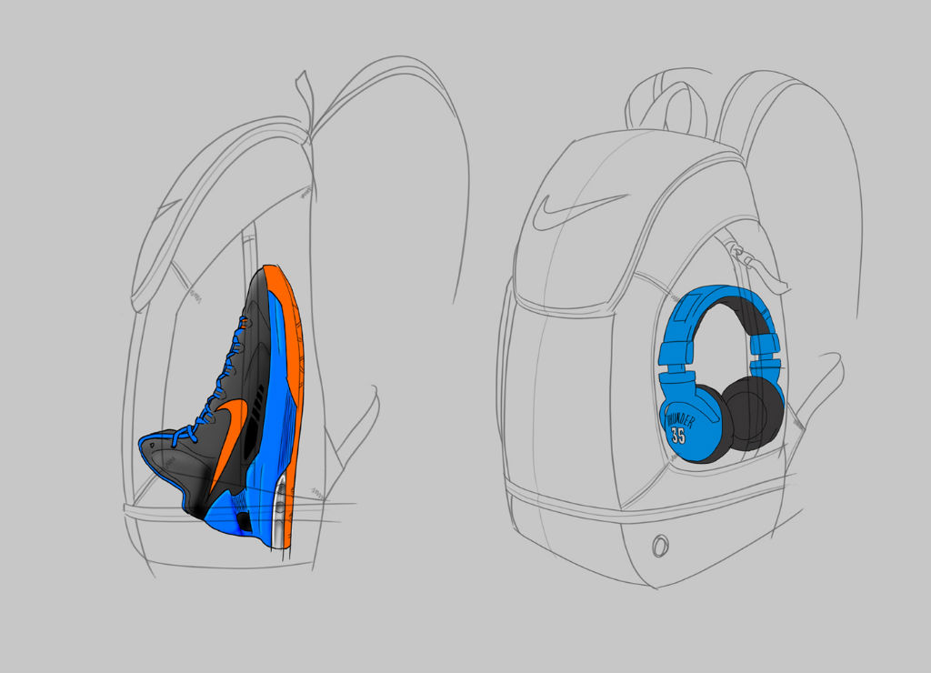 Kevin Durant's Nike Backpack: Inside Access (10)