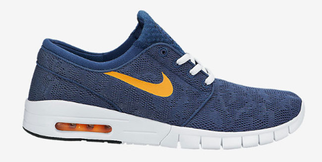 janoski air max blue orange