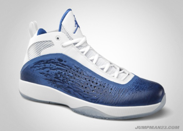Jordan Brand All-Star Shoes: Air Jordan 2011 White Deep Royal