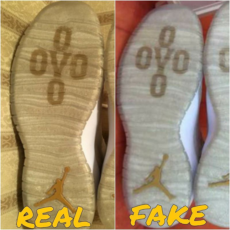 a25e1341717 This Video Shows You How To Tell If Your 'OVO' Air Jordan 10s Are ...
