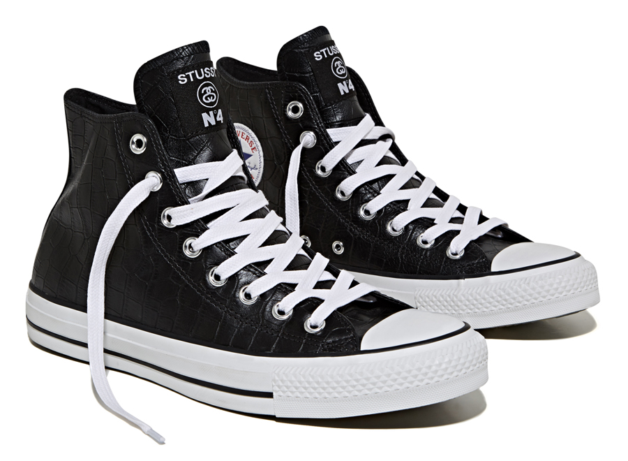 Stussy x Converse Chuck Taylor All Star Collection black