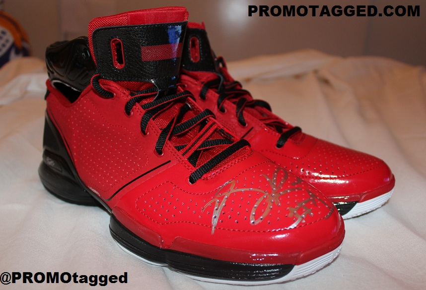 Spotlight // Pickups of the Week 1.5.13 - adidas adizero Rose 1 Autographed by PROMOTAGGED