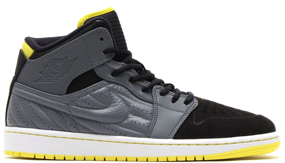 Air Jordan 1 Retro '99 Cool Grey/Vibrant Yellow-Black