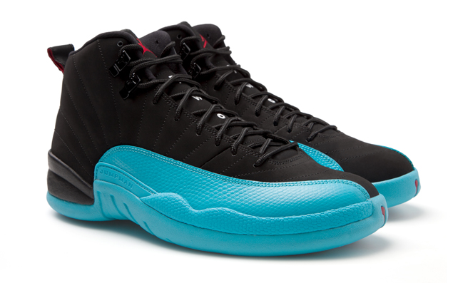 competitive price b9aea f1226 Air Jordan 12 Retro in Gamma Blue Black Gym Red