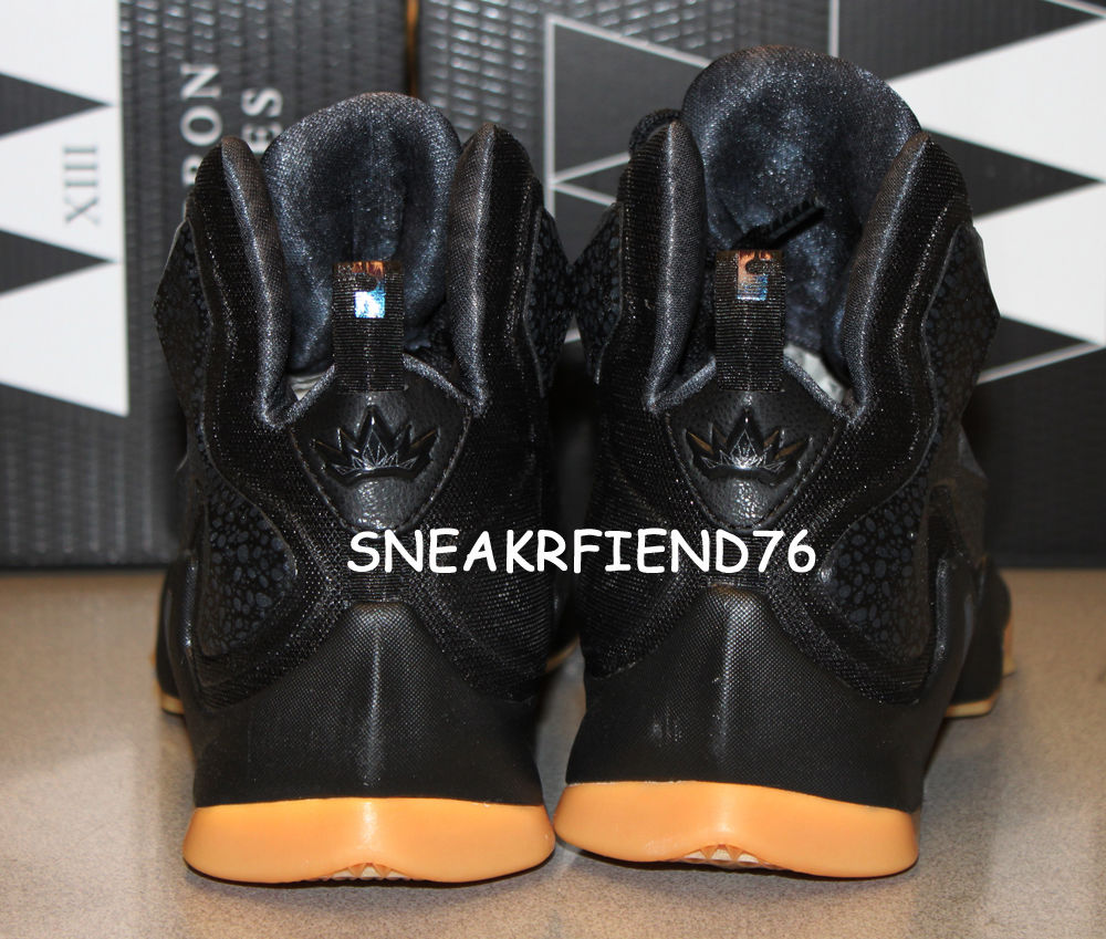 new york 3ca02 985a8 Release Date: Nike LeBron 13 'Black Lion' | Sole Collector