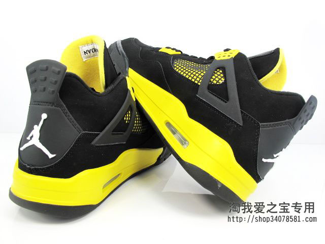 Air Jordan IV 4 Thunder 308497-008 (5)