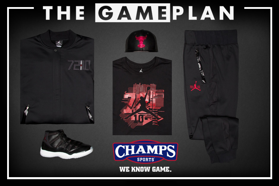 The Game Plan by Champs Sports Presents the Jordan  72-10  Collection 08e0205b6