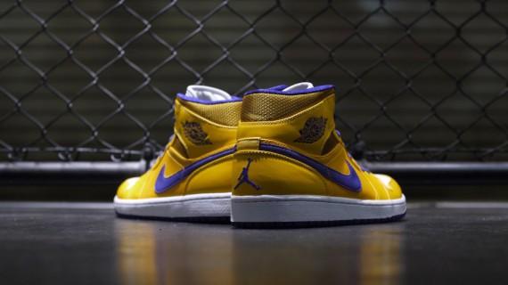 Air Jordan 1 Retro Mid - Lakers | Sole