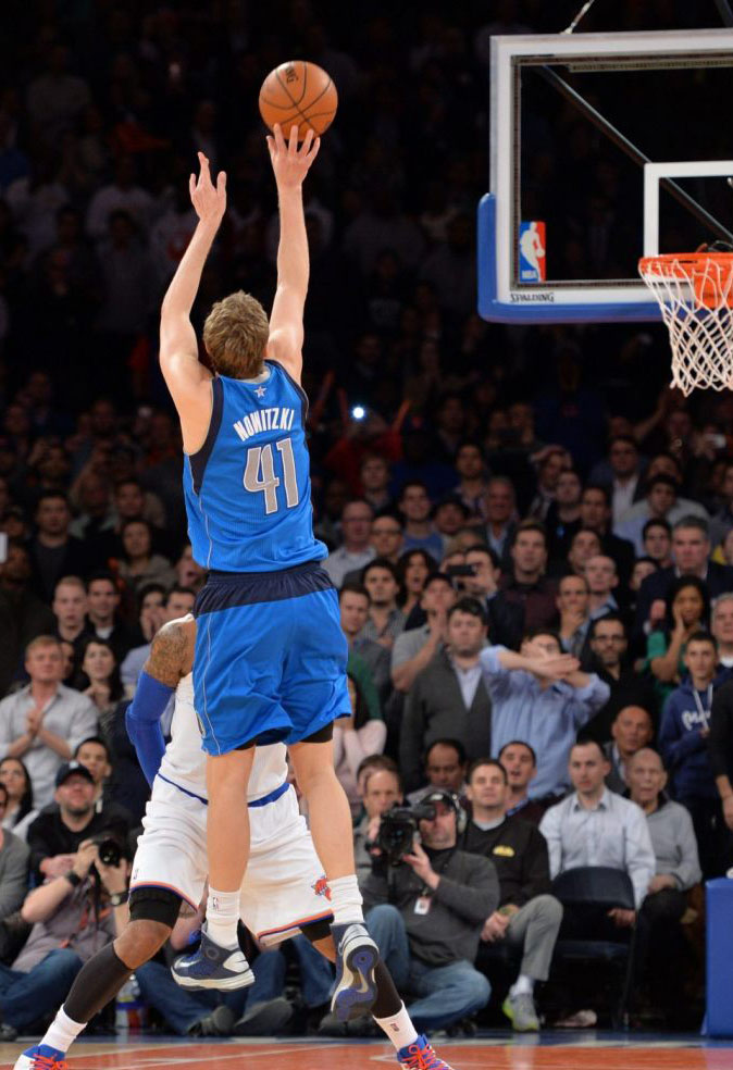 Dirk Nowitzki Hits Game-Winner in Nike Hyperdunk 2012