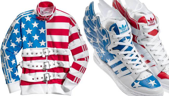 adidas jeremy scott american flag