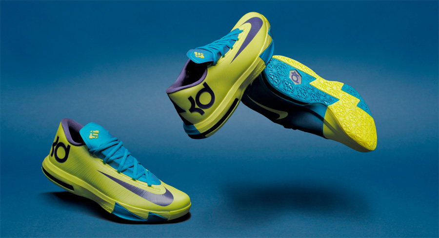 Nike Basketball's Design Director walks us through KD's launch colorway,  inspired by the gym he grew up playing in.